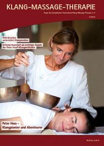 Cover Fachzeitschrift Klangmassage 2016