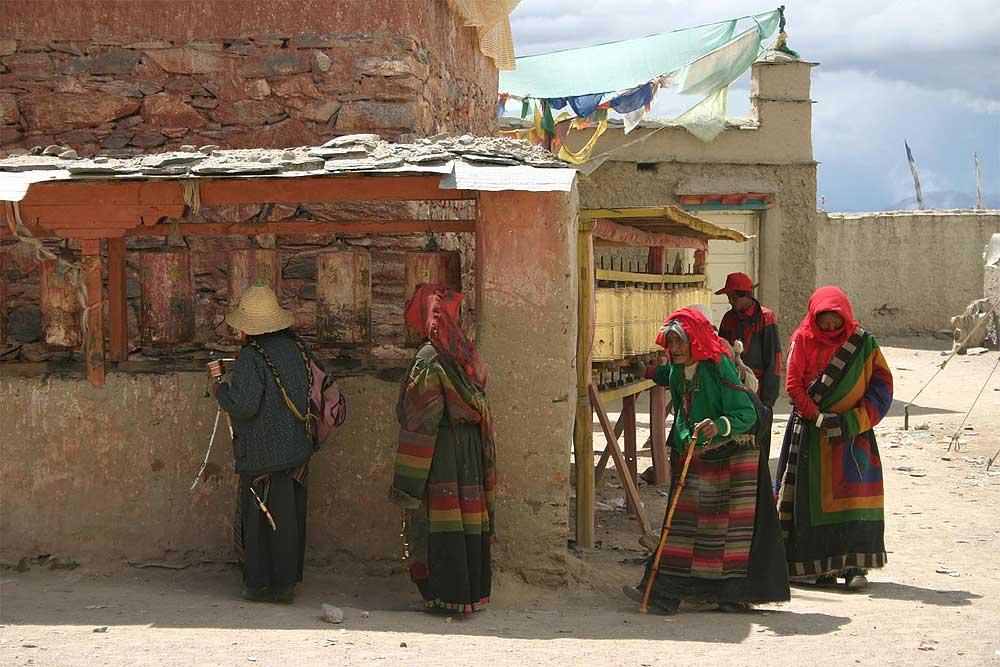 Tempel in Tibet