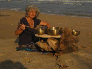 Fantasiereise mit Klangschalen Strand Klangschalen