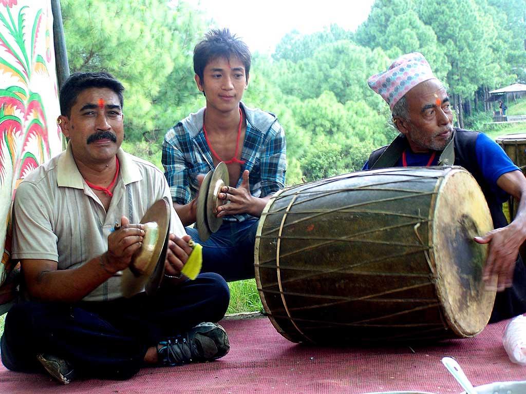 Reisebericht Nepal Trommler