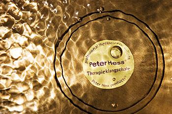 Sound massage palliative care peter hess singing bowl