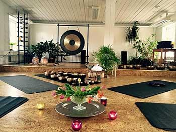 Sound Massage Sweden seminar room