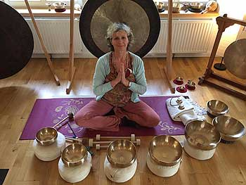 Sound Massage Sweden singing bowls