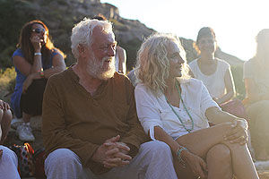Geschichte Peter Hess Klangmassage Peter und Emily Hess