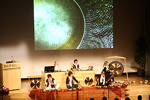 Singing bowls in Finland conference
