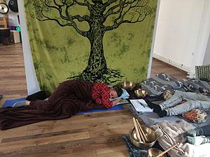 Klangmassage in Polen Klangmeditation