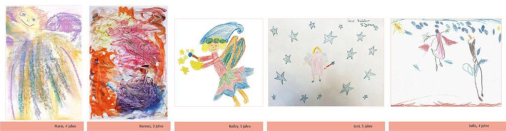Kinder Malwettbewerb Gewinner*innen Altersgruppe 3-5 Jahre