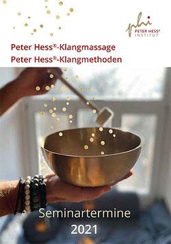Terminbroschüre Peter Hess Institut