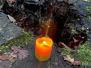 Märchen Klang Kerze