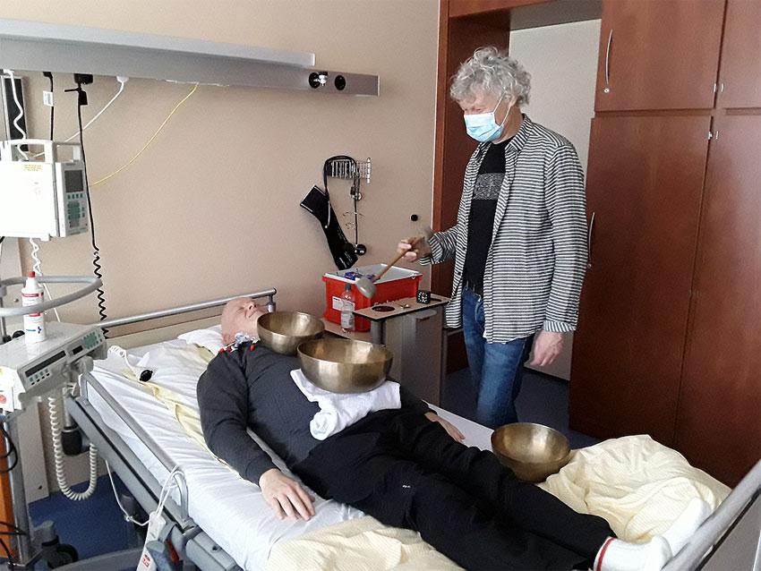 Klangmassage Krebstherapie